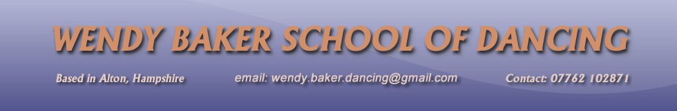 Wendy Baker Dancing School Banner